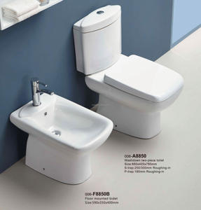 Whole sale washdown two piece roca toilet wc soft close water closet peeping chinese toilet