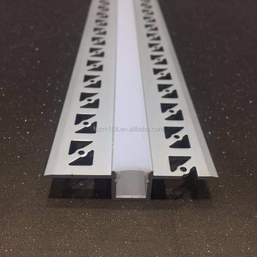 Special Ultra Thin Aluminum Led Channel Linear Trimless Mounting Led Light Track Profile For 7.8Mm Strip Width Pc