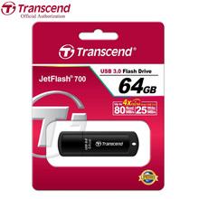 Transcend JF700 USB Flash Memory Stick High Speed USB 3.0 Flash Pen Drive Business Gift USB Flash Drive 64GB 32GB 16GB 8GB 4GB
