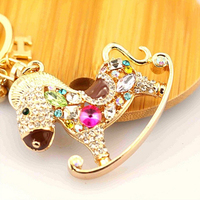 Key Chain ring llavero Trojan full diamond plated with good quality and best price