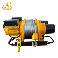 Wire Rope Double Drum Electric Winch 2.2 ton Of China