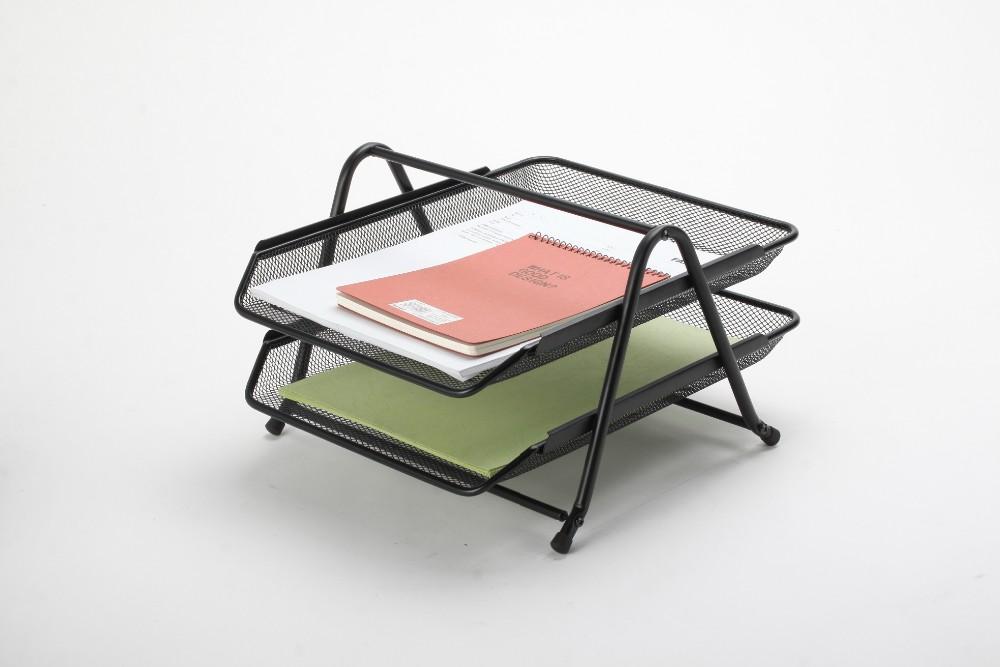 fournitures de bureau moins cher m tal maille a4 fichier portable affichage rack fichier. Black Bedroom Furniture Sets. Home Design Ideas