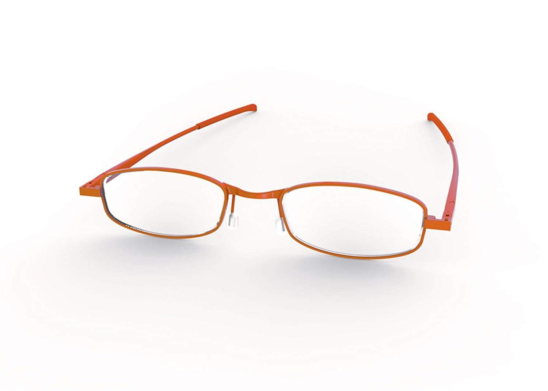 8210690ea4 Get Quotations · Compact Lenses - Folding Reading Glasses - Cinnamon +2.0