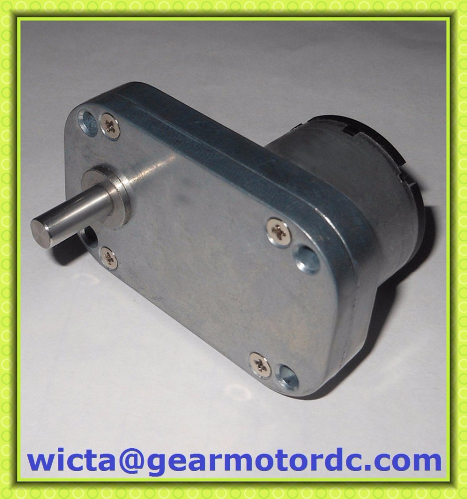 compact flat gearbox Low speed 4.5V 6v electric small micro dc gear motor