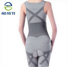 Aofeite High-End Unique Slimming Burn Fat Briefs Shapewear Tummy Slim Bodysuit Full Body Shaper