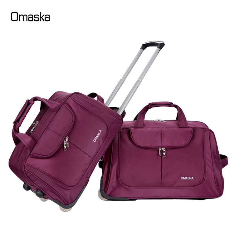 4d55f4eb246 Wholesale travel trolley duffle bag large size luggage cheap rolling duffle  bag