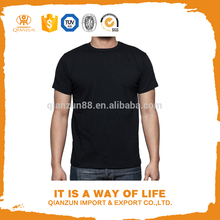 Black Slim Fit Plain Long Sleeve T shirt Men