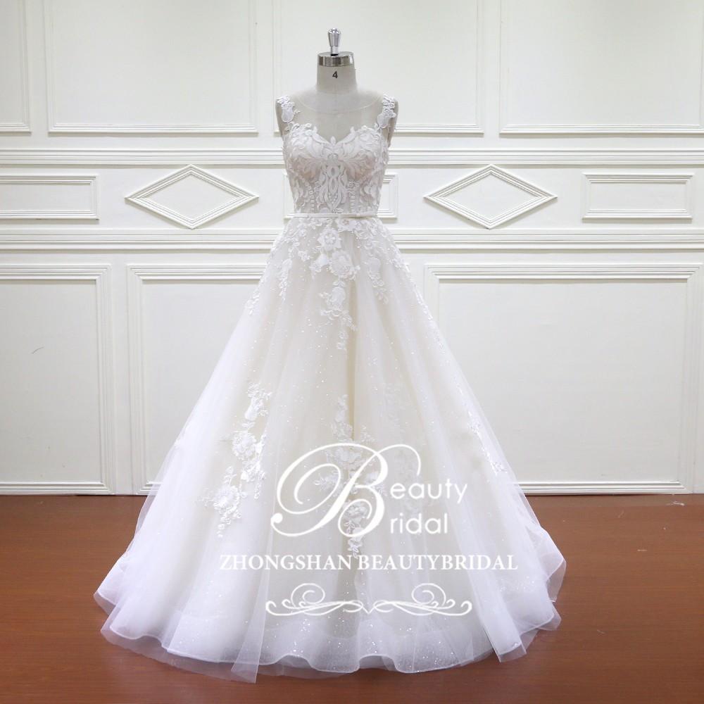 Elegante Spitze Appliques Türkei Istanbul Brautkleider 2017 Braut ...
