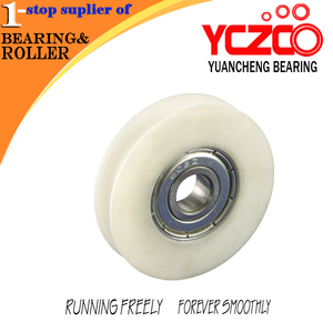 High quality hanging and sliding door rollers with buffer Suspending door roller