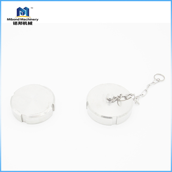Top Sale Stainless Steel Blank Nut End Cap With Chain