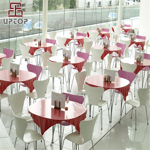 (SP-CS110) Fast food restaurant table and chair / food court chairs tables for sale