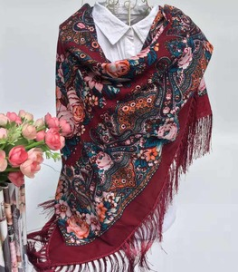 custom design wholesale fashionable printed cotton square scarf shawl pashmina scarves and shawls women