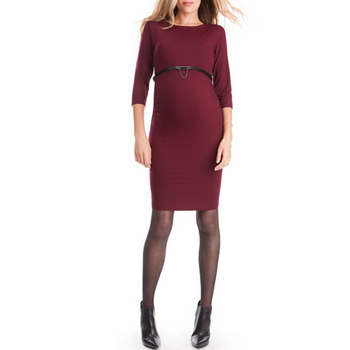 850780b0eb5a Ladies Sexy Winter Casual Maternity Clothes Pregnant Dresses Delivery Photos