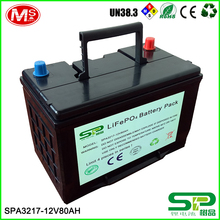 12V Rechargeable lithium ion battery for solar street light SPA3217
