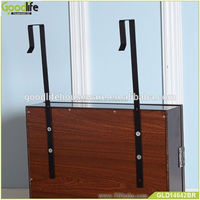 Wooden door hanging unfinished jewelry armoire with factory price