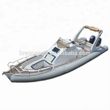 Ce Certification China Hypalon Luxury Rib 960 요트 큰 Fiberglass 부 풀릴 수 Boat