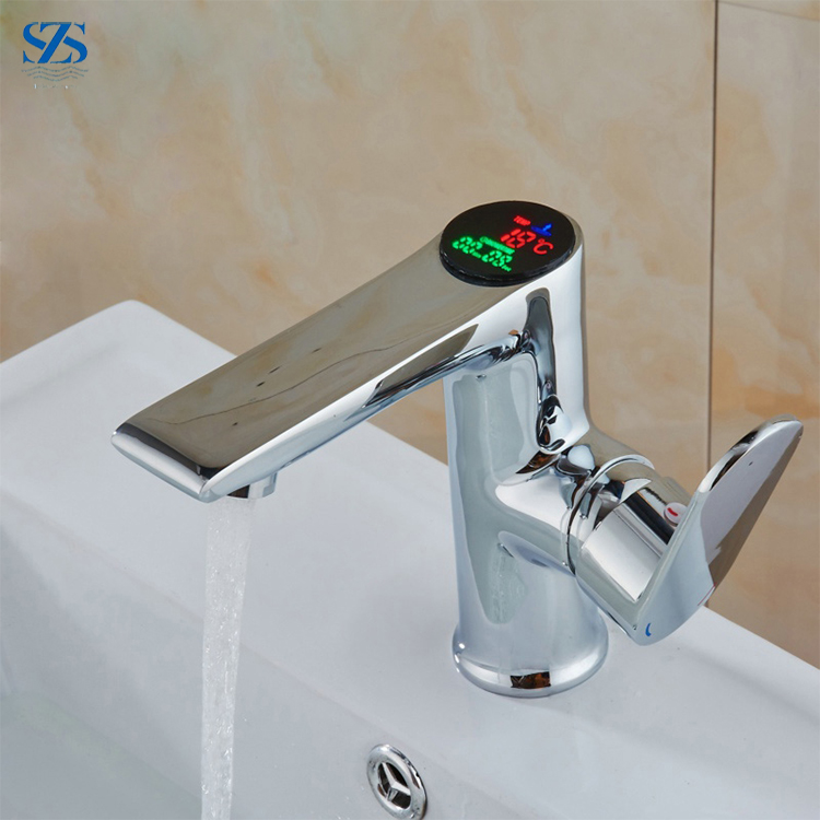Wholesale Thermostatic Temperature Control Automatic Digital faucet