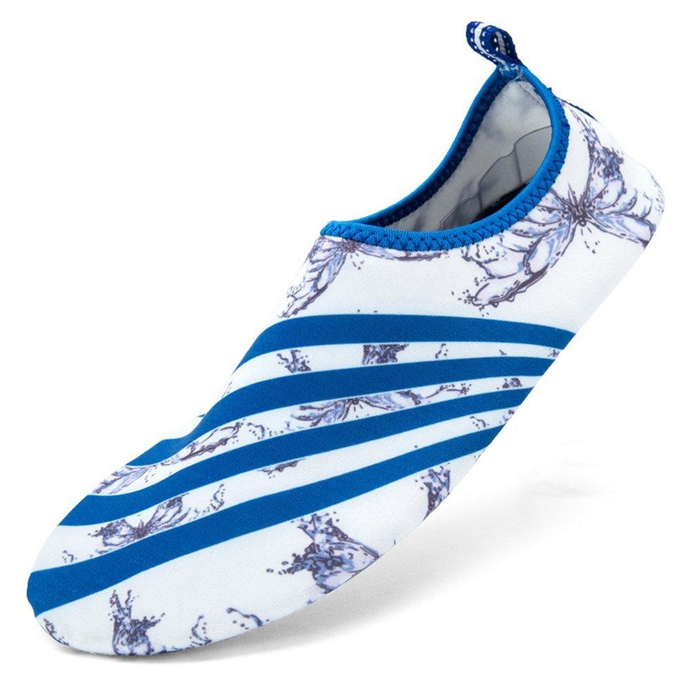 30bd4b4c4d5872 Get Quotations · Cideros Water Sports Shoes Unisex Quick-Dry Aqua Socks Slip-on  for Men Women