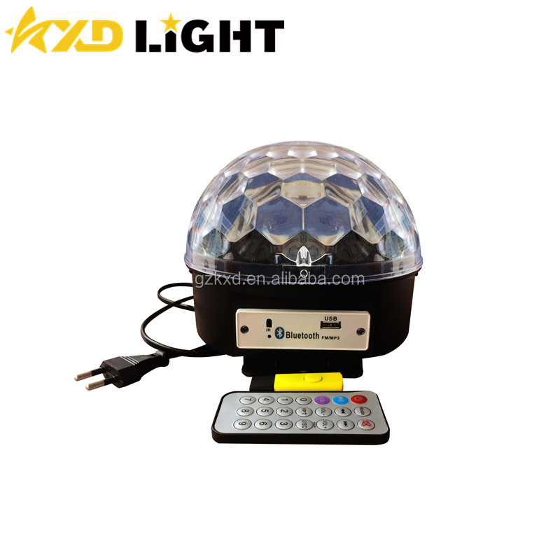 Cheap Hot Selling Disco Mirror Balls Bluetooth And Mp3 RGBWAP Color Magic Ball Light 6pcs 1W RGBWAP High Brightness LEDs Disco B