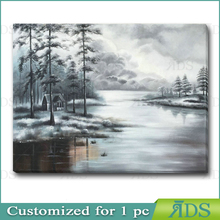 Handmade Nature Oil Painting in 36X48 Size