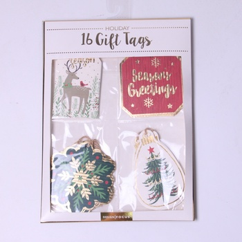 christmas birthday gift tags