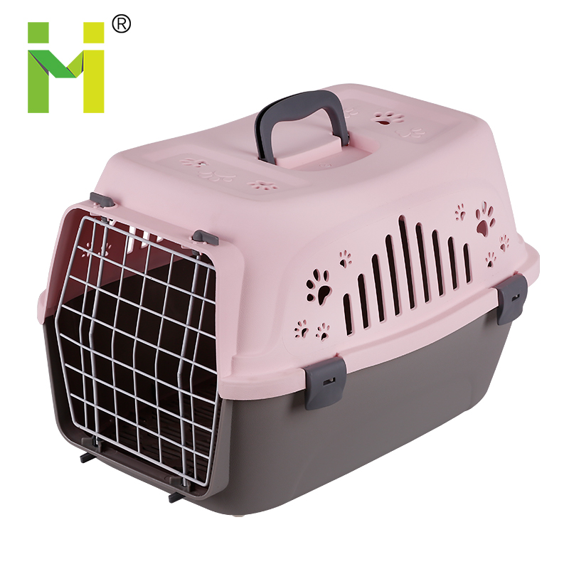 2018 Nuovo Disegno Box di Trasporto Air Box Pet Gabbie di Plastica Portatile di Viaggi Carrier Dog Carrier