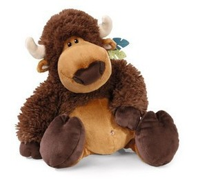stuffed animal plush toys yak , soft toy yak plush toys