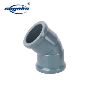 Wholesale DIN Bell type pvc pressure pipe fitting