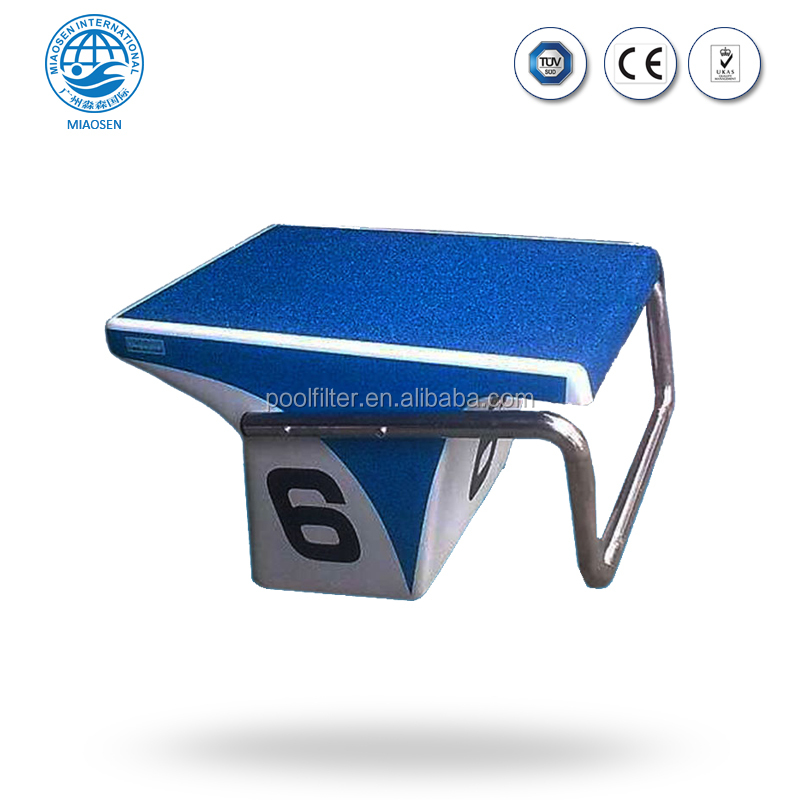 Swimming Pool Starting Block For Standard Competition