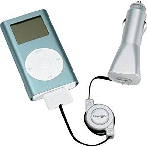 Kensington Auto Charger for iPod and iPod Mini