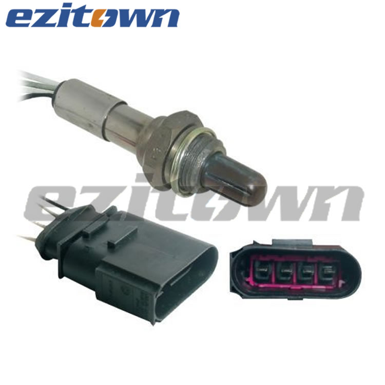 ezitown auto parts oxygen sensor lambda sensor OE 06A 906 265 L for VW for BORA for Variant for GOLF IV