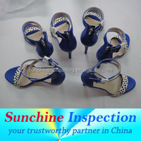 shoes inspection services/shoes quality control and slogan/3rd part inspection service