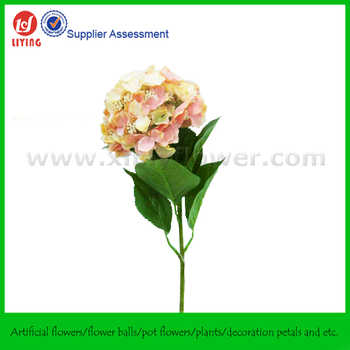 Large peach hydrangea silk flowers with leaves buy peach hydrangea large peach hydrangea silk flowers with leaves mightylinksfo