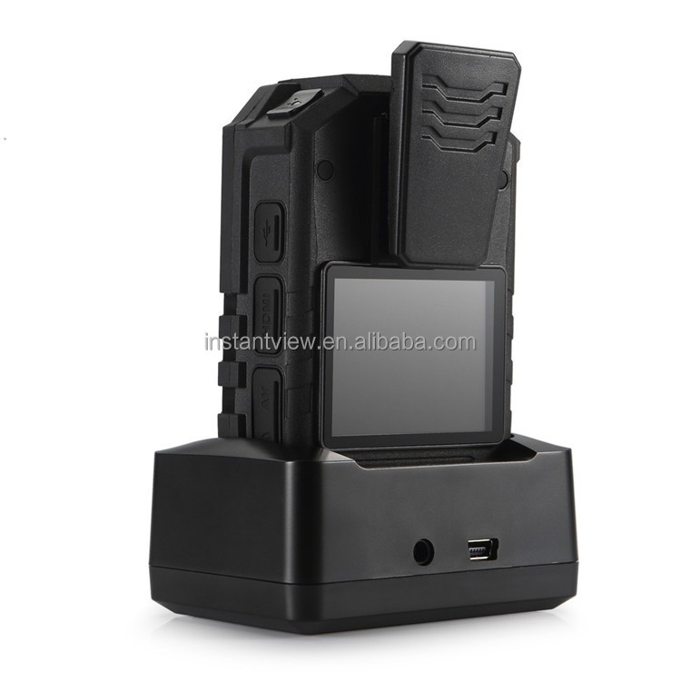 Public security digital police body camera voice and video recorder with WIFI and GPS