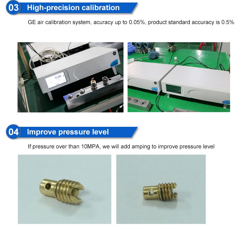 pressure sensor calibration