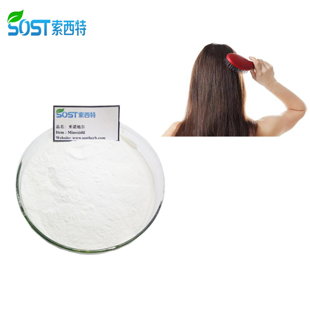 SOST Factory supply anti-haaruitval 100% Pure Minoxidil