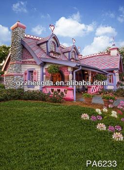 High Quality Outdoor Scenery Garden Floral Greensward Pretty