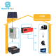 Solarbaba off-grid solar home system 3kw 4kw 5kw 7kw 8kw 10kw for home roof energy system