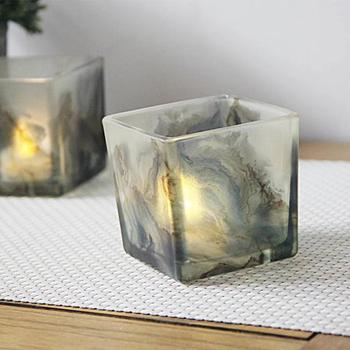 Printed Glass Votive Candle Holders/Vessels for Wedding/Home ...