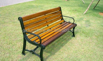 Jianglin Street Furniture Benches,Low Cost Outdoor Wrought Iron Park  Bench,3 Seater Bench