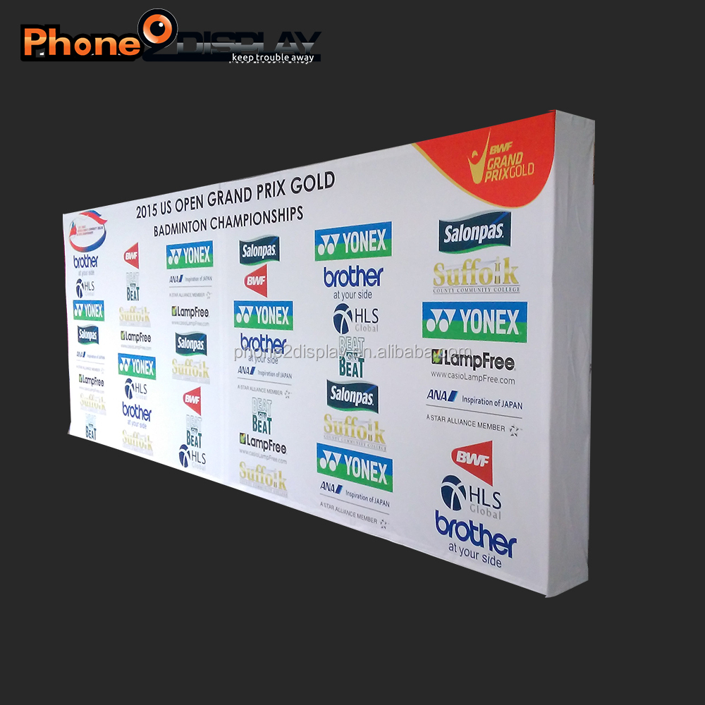 8ft Exhibition Booth Trade <strong>Show</strong> Stand big discount display banner for sale