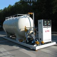 Carbon steel oil storage tank fuel tank ,LPG gas cylinder filling station on sale