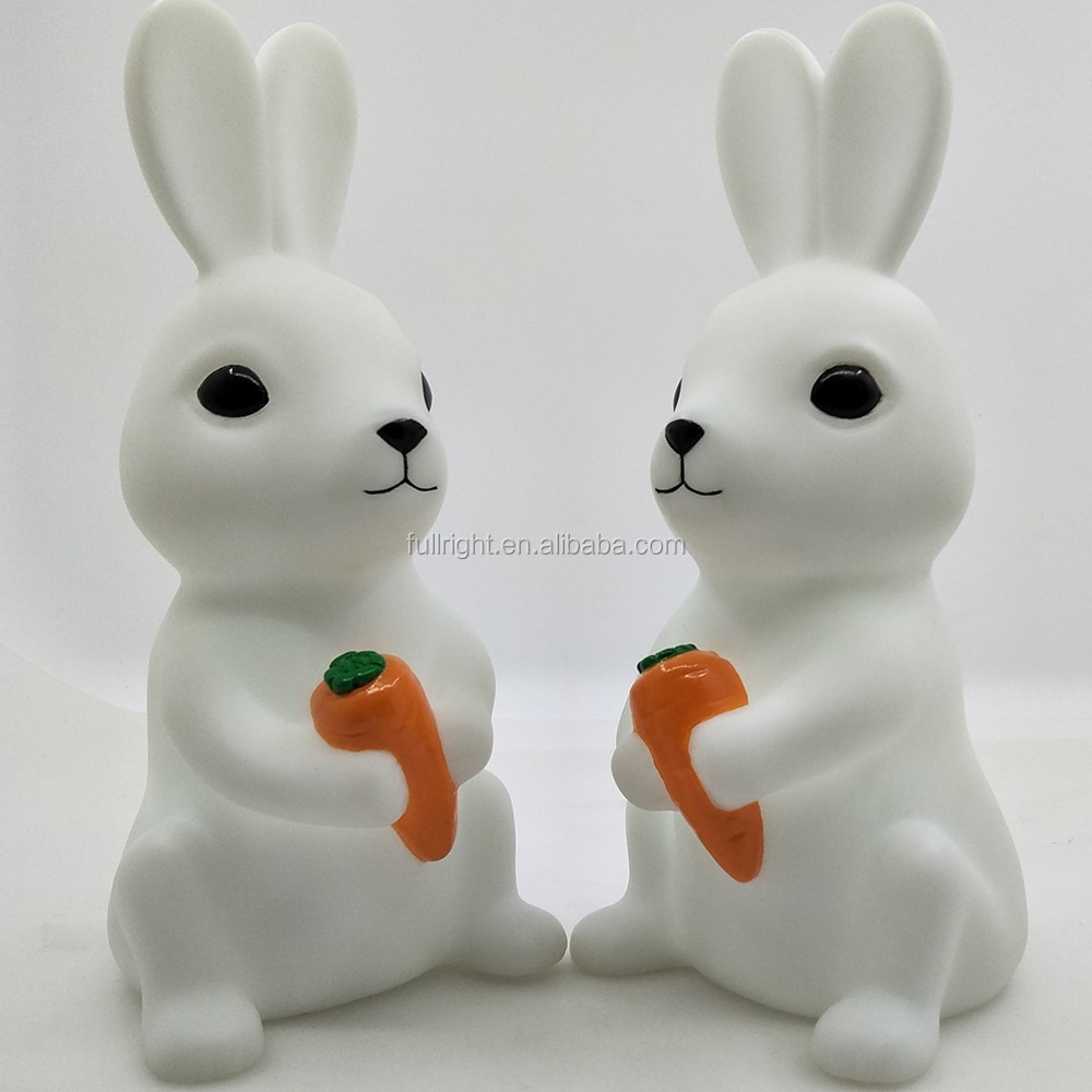 light up toy for baby bedroom <strong>rabbit</strong> led lovely cute factory price high quality