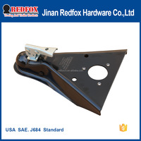 USA SAE. J684 / V5 Standard Black E-coating Finish Frame Trailer Hitch Ball Couplers
