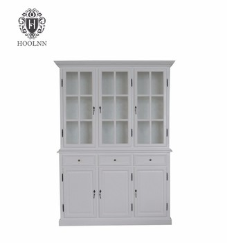 French Retro Living Room Wooden Furniture Bar Cabinet Whisky Wine