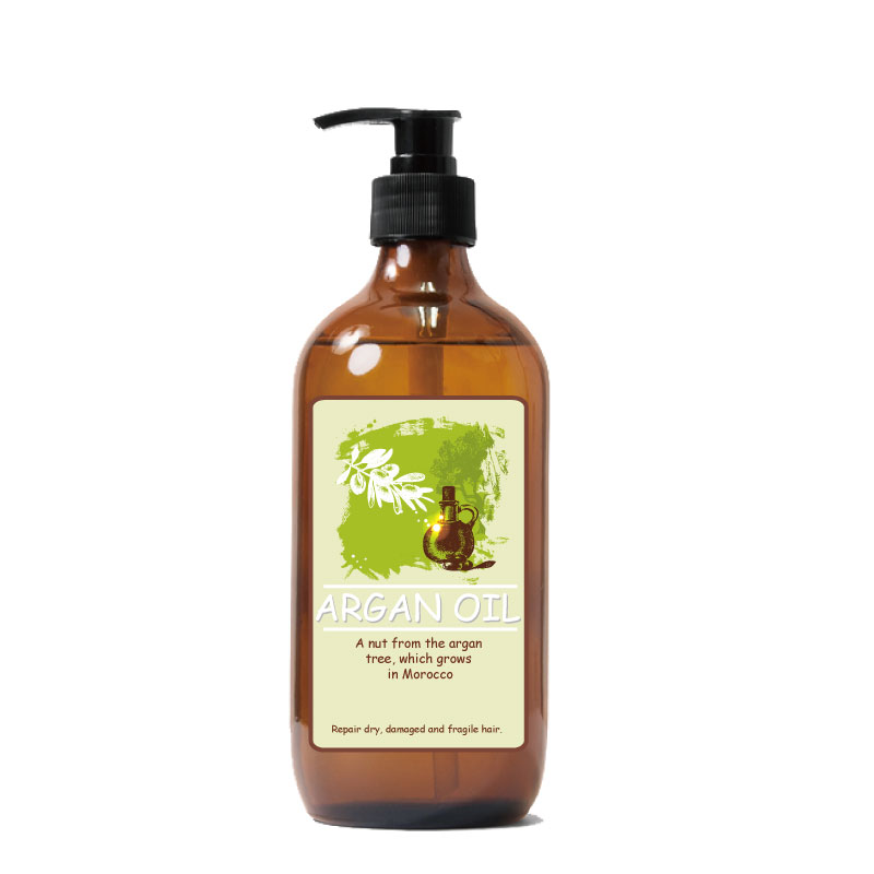 Pure Argan Oil Gentle on Curly & Color Treated Hair Repair Shampoo for Damaged Hair