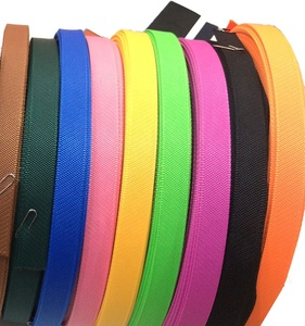 New style thin nylon webbing bag belt roll for shoes 1 inch