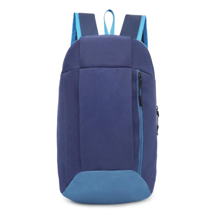 Custom folding simple bag organizer waterproof backpack lightweight <strong>school</strong> back pack