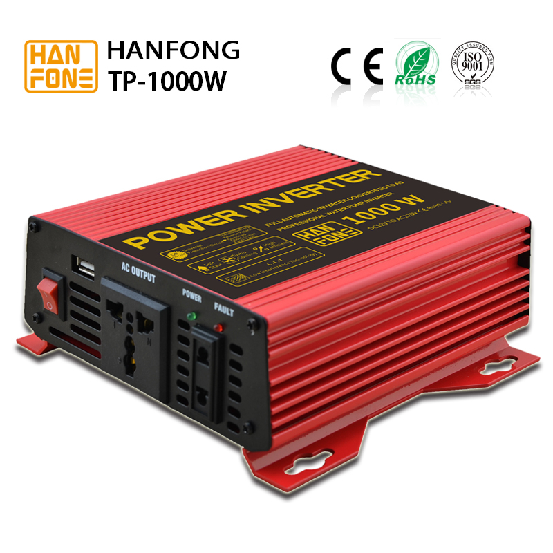 solar pump inverter 12v 24v converter with CE RoSH certificate and cpu control pure sine wave work type