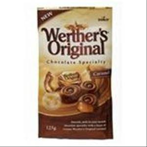 Storck Werthers Original Caramel Milk Chocolate 125g. by Storck